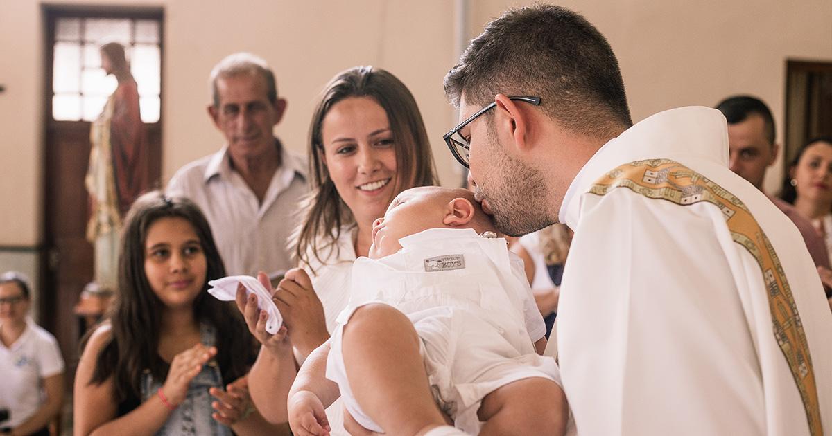 Batizado Benício - Carmo do Rio Claro